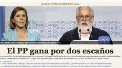 Los resultados de las elecciones europeas en las portadas de los diarios digitales