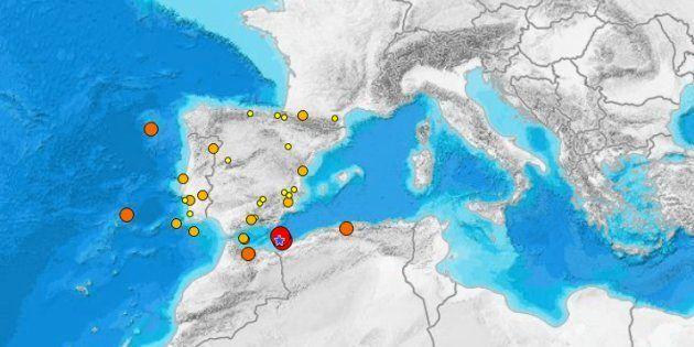 Un terremoto en Argelia se siente de madrugada en Melilla y en cuatro provincias