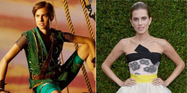 Disney en carne y hueso: Allison Williams es Peter Pan