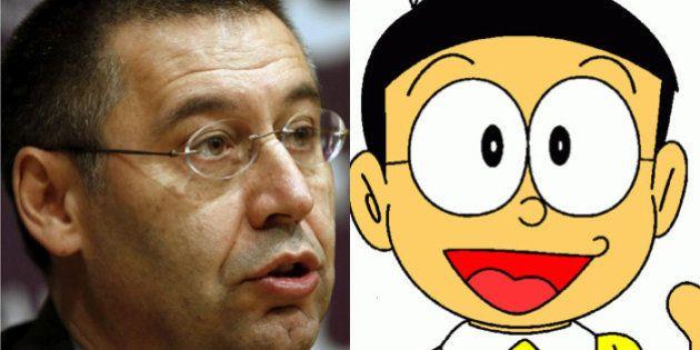 'Nobita' Bartomeu, la sensación de la celebración