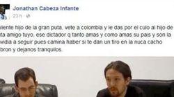 El PP pide a un concejal que deje su acta por desear que a Pablo Iglesias le den un