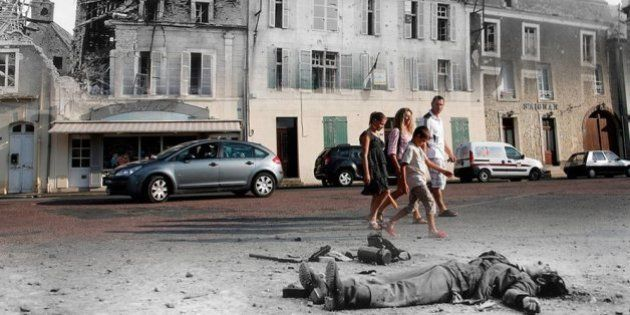 Los lugares del 'Día D', antes y ahora: 11 fotos que te
