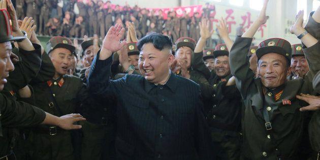 Imagen de archivo del líder de Corea del Norte, Kim