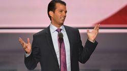 """El hijo de Trump aceptó """"encantado"""" ayuda contra Clinton del Gobierno"""