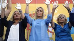 Abucheos a Manuela Carmena en el homenaje del PP a Miguel Ángel