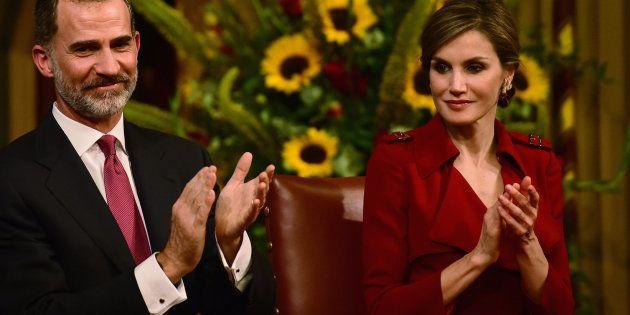 Los reyes Felipe VI y Letizia en