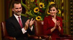 Todas las fotos de la viaje oficial de de Felipe y Letizia a Reino