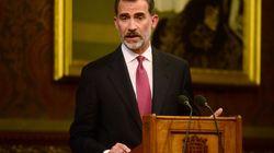Felipe VI reclama en el Parlamento británico