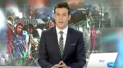 No verás más a este presentador del Telediario en TVE: