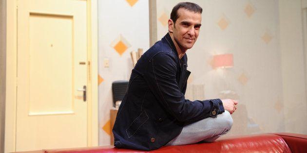El actor Luis Merlo, en una imagen de