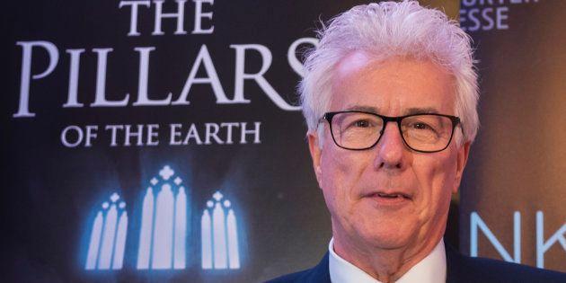 El escritor Ken Follett en la presentación del videojuego de 'Los pilares de la tierra' en la Feria del...
