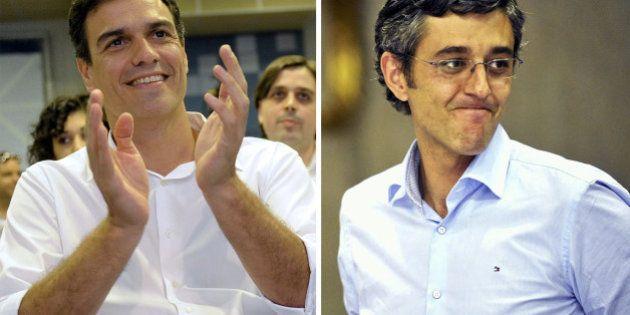 Eduardo Madina y Pedro Sánchez ya tienen los avales para luchar por liderar el