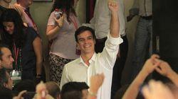 Pedro Sánchez, nuevo líder del PSOE
