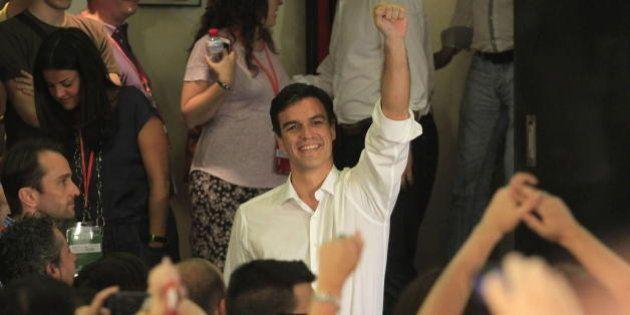 Pedro Sánchez, nuevo secretario general del PSOE tras una amplia victoria sobre Madina