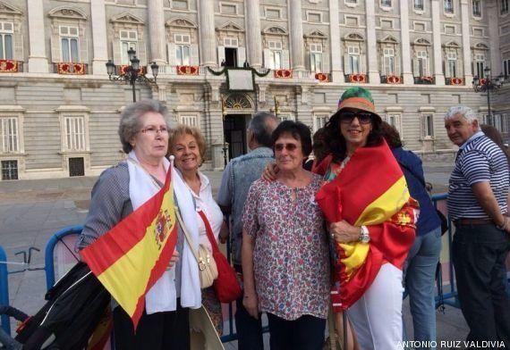 Coronación Felipe VI: estos son los fans de la monarquía más madrugadores