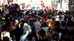 Tres detenidos y 500 manifestantes durante la