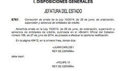 Juan Carlos I sigue firmando leyes en el BOE... por