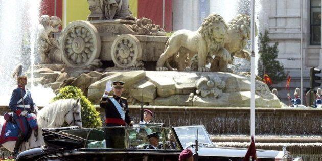 La coronación del rey Felipe VI supuso para Madrid un gasto extra de 28.845