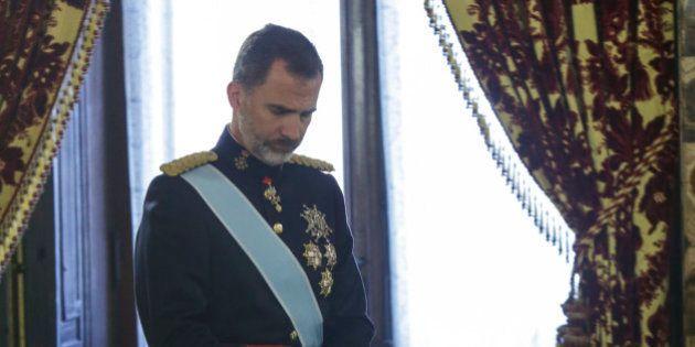 Felipe VI en 2017: recuperar un año (casi)