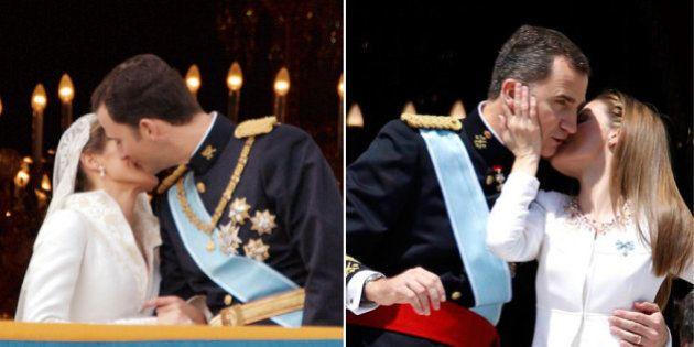 El beso de la boda Vs. el beso de la coronación: ¿cuál te gusta menos?