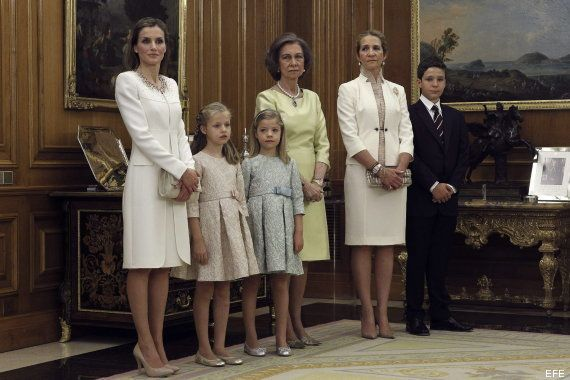Reina Letizia: vestido en la coronación de Felipe VI