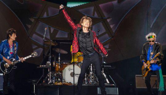 ¿Quién dijo septuagenarios? Las fotos del concierto de los Rolling Stones en