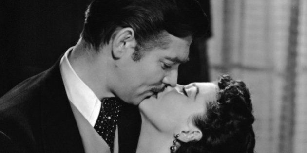 Clark Gable (1901 - 1960) and Vivien Leigh (1913 - 1967) star in the MGM romantic drama 'Gone with the...