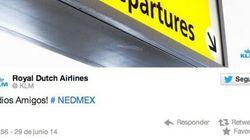 La aerolínea holandesa KLM indigna a los mexicanos con este