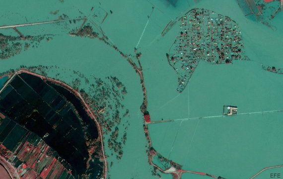 Imágenes por satélite del Ebro a muy alta resolución permiten evaluar el