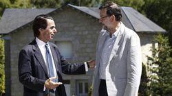 Así ha sido el reencuentro entre Aznar y Rajoy