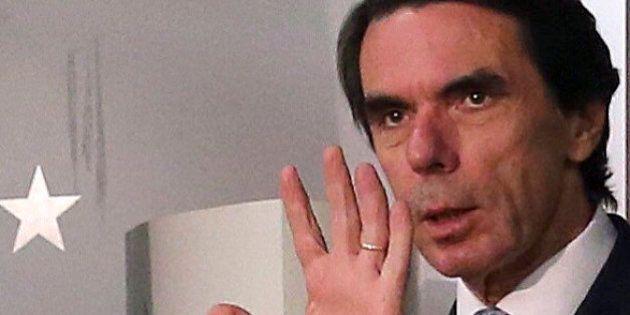 El broncón de Aznar al Gobierno por el tema