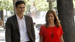La primera reunión de Pedro Sánchez, de 50 minutos y con Susana