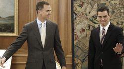 Pedro Sánchez, recibido por el rey: