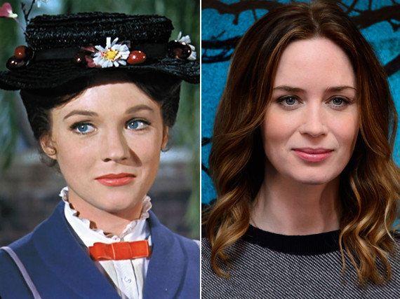 Emily Blunt será Mary Poppins en la secuela que prepara