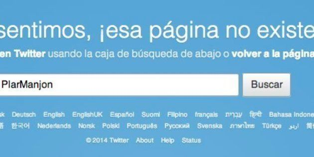 La cuenta de Pilar Manjón en Twitter, cerrada tras el polémico comentario sobre Obama y