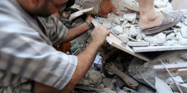 Al menos 10 muertos en otro bombardeo de Israel a una escuela de la
