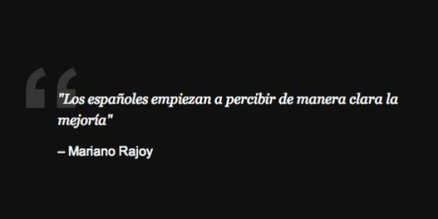 La comparecencia de Rajoy, en 16 frases
