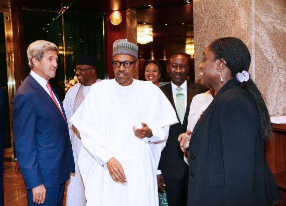 Kerry durante su visita a