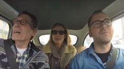 Vamos de paseo con Fofito y Mónica Aragón en un auto