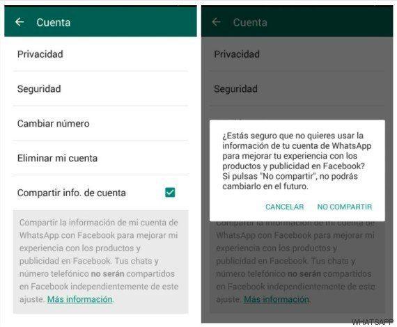 Cómo evitar que WhatsApp comparta tu número con