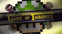 ¿Echas una partida a Juego de Tronos versión Super Mario