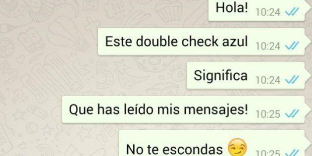 Mensajes leídos de WhatsApp: el doble check azul te lo