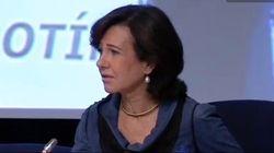 Ana Botín sobre Podemos:
