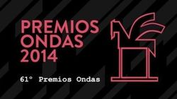 Premios Ondas 2014: lista de