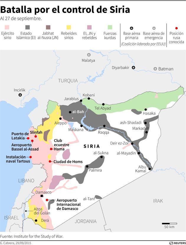 Putin trata de asumir el liderazgo en Siria frente a la posición de
