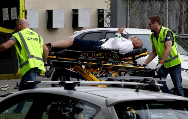Police responded to mass shootings at mosques in Christchurch, New Zealand on