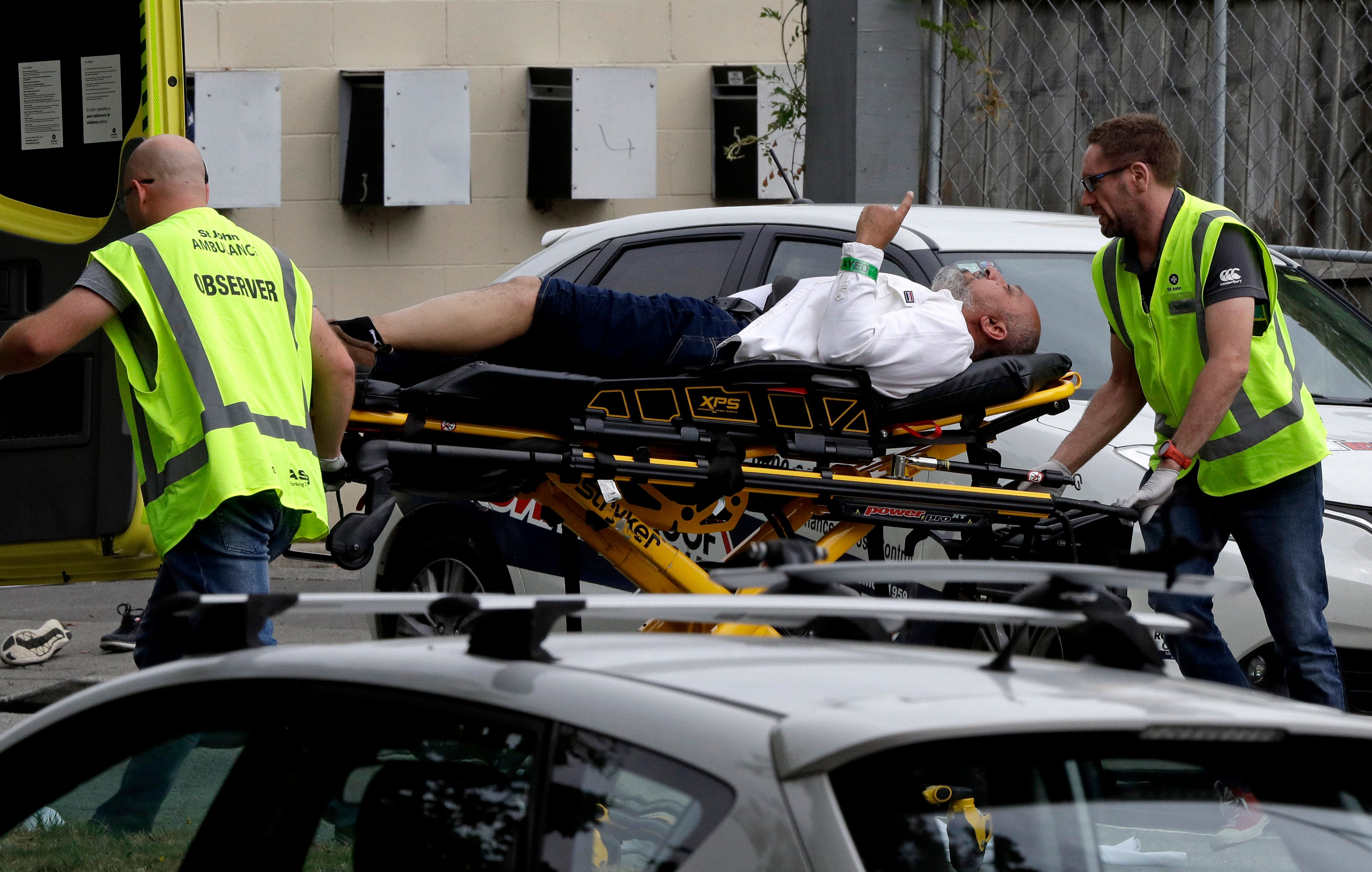 Police responded to mass shootings at mosques in Christchurch, New Zealand on Friday.