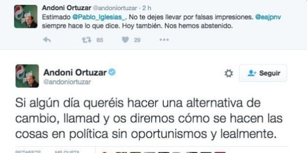 La respuesta de Pablo Iglesias a estos tuits del presidente del