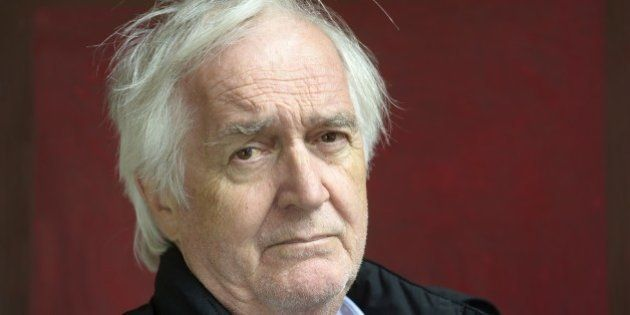 LYON, FRANCE , MARCH 30. Swedish writer Henning Mankell poses during a portrait session held on March...