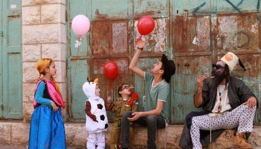 Las fotones del carnaval judío más